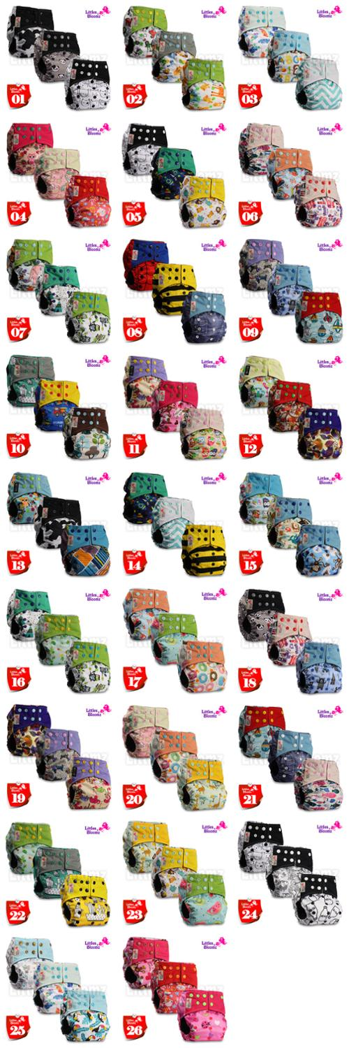 Image 2 - 3pcs/set BAMBOO CHARCOAL Washable Real Cloth Pocket Nappy Diaper Cover Wrap, 3 nappies/diapers and 0 insert in one set Free Ship-in Baby Nappies from Mother & Kids