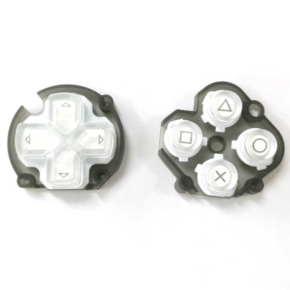 1pair= 2pcs Function Button Direction Keys For PSV 1000 Black Cross Pad Vol Select Button for PlayStation Vita