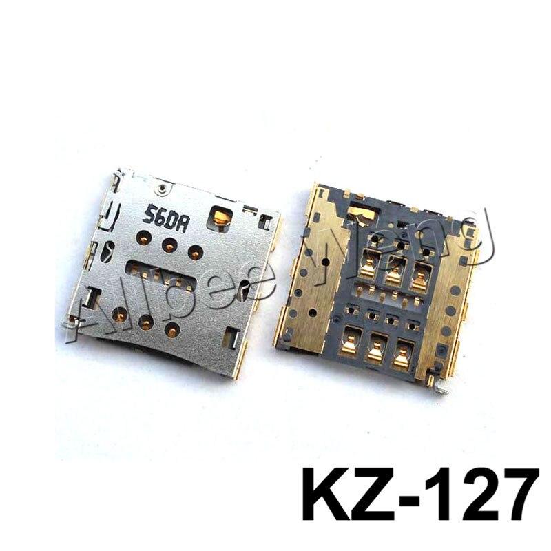 For Huawei Honor 6 Plus 5X 5S Play Ascend P7 P8 Max P8 Lite Mate 7 C199 G7 G760 Sim Card Slot Tray Holder Socket Reader Repair