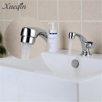 1 Pcs Xueqin Bathroom Basin Faucet Household Single Handle Sink Tap Cold Water Basin Wash Valve