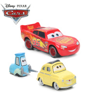 19Style Disney Pixar Cars 3 Basic Metal Car Model Toy McQueen Black Storm Jackson Curz Fast