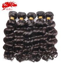 "Ali Queen products unprocessed virgin peruvian hair 10″-30"" natural wave wholesale 10pcs/Lot 6a grade quality weave bundles"