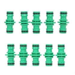10 шт./лот ABS Пластик садовый шланг трубы инструмент разъем стиральная воды сплиттер для Садовый шланг быстрого разъем шланга Столяр