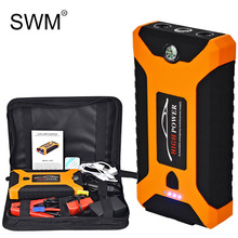 цена на SWM Jump Starter Booster Car 20000 Mah 12V Starting Device Portable Car Auto Engine Jump Starter Emergency Battery Power Bank