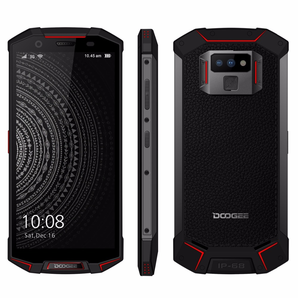 DOOGEE S70 Lite IP68 Waterproof Shockproof Android 8.1 5500mAh 12V2A Charge 5.99'' Octa Core 4GB 64GB Smartphone 16MP Camera NFC