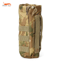 6 Color Tactical Water Bottle Pouch Military Molle System Kettle Bag Camping Hiking Travel Survival Kits Holder camping sports water bag new outdoor tactical military molle system bottle bag kettle pouch holder