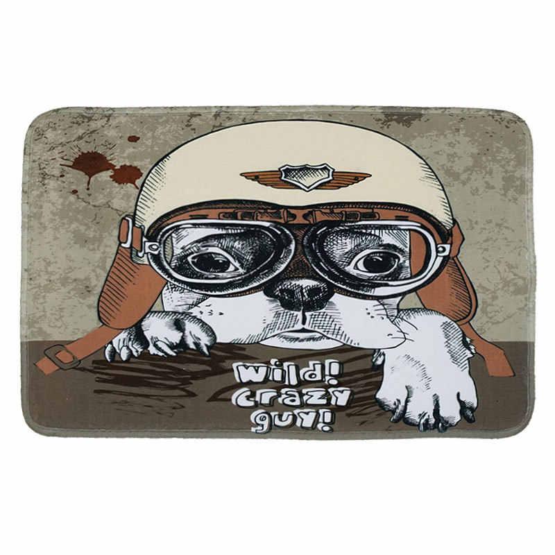 Zeegle мультфильм собака коврик с рисунком домашний Коврик для пола Нескользящие коврики для ванной комнаты детский коврик для комнаты ребенок Впитывающий Коврик Коврики для ног спальня