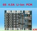 4.5A 25.2 V lipo 6 S bateria de Polímero de lítio BMS/PCM/PCB placa de circuito de proteção da bateria para 6 Pacotes 18650 Célula de Bateria Li-ion