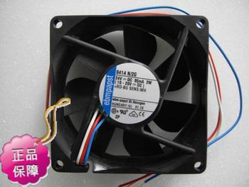 New Original EBMPAPST 8414N-2GH DC24V 2.0W 80 * 25MM  inverter axial cooling fan