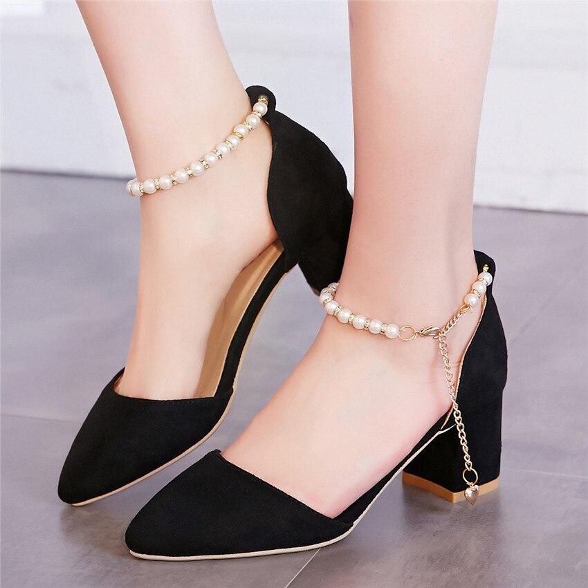 ladies pumps d 39 orsay women high heels kitten heels woman high heel party wedding shoes plus size. Black Bedroom Furniture Sets. Home Design Ideas