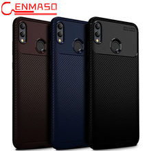 Huawei mate 20 lite case Huawei P20 pro P10 soft silicon case honor note 10 full cover Honor 8x carbon fiber case P smart plus(China)