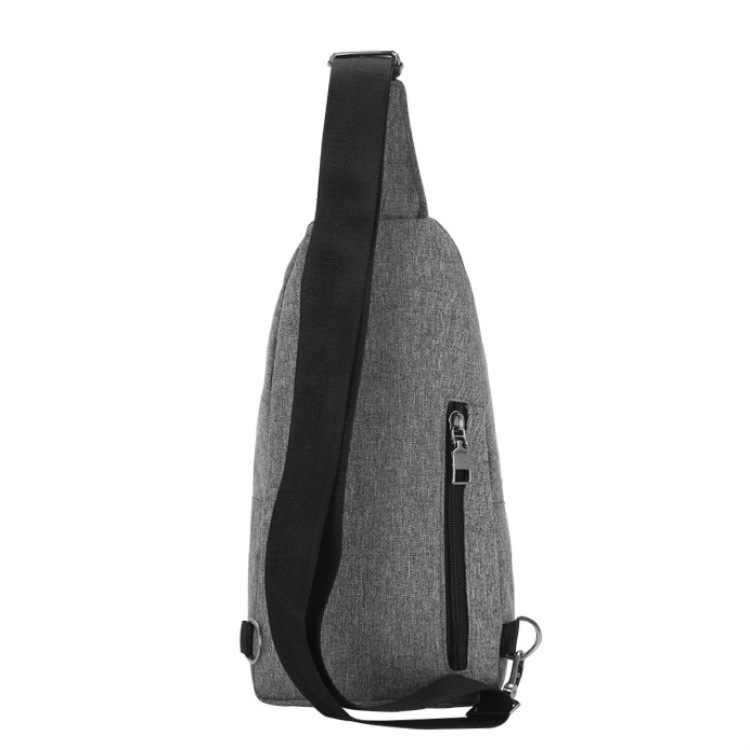 Канва, замок-молния, нагрудная сумка в стиле Casual мужские Сумка kkkz