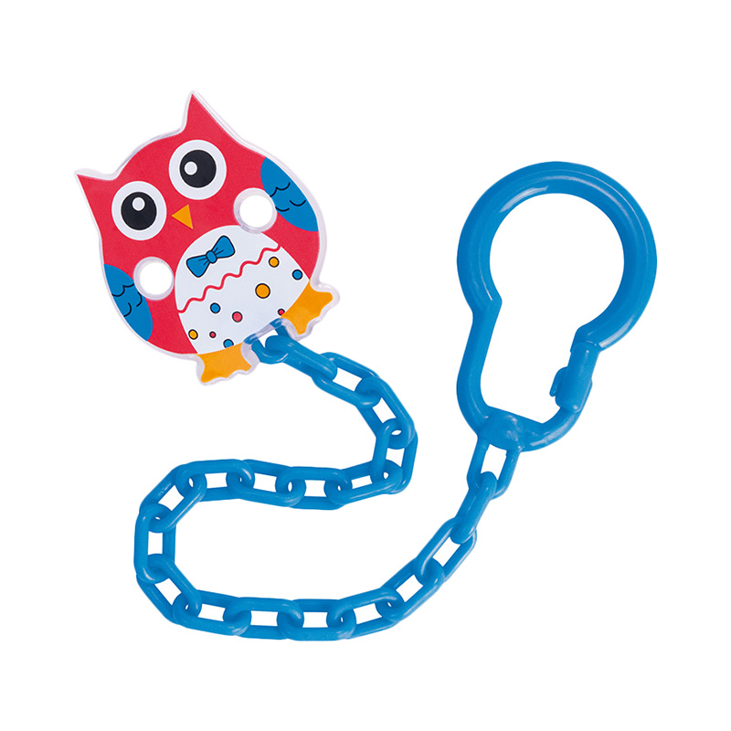 Pacifiers Canpol babies Leashes & Case Clip-holder for pacifiers Owl, 0+ Red feedkid