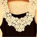 Fashion Crochet  Lace Women's Tank 2016 Summer Sleeveless Women Tank Top Fitness Tops Women Tank Vest  BX5