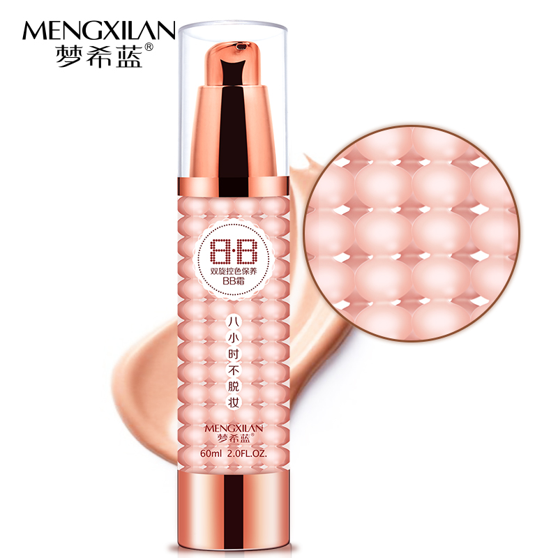 MENGXILAN Air Cushion Watery BB Cream Concealer Moisturizing Foundation Makeup Bare Whitening Face Beauty CC creme