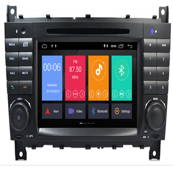 Android 9.0 Octa Core PX5 for Mercedes W203 android C200 C230 C240 C320 C350 CLK W209 Car Multimedia Player DVD Player RADIO