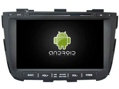 Android 7 1 CAR DVD player FOR KIA SORENTO 2013 car audio gps stereo head unit