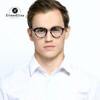 EE Vintage Eyewear Fashion Optical Eye Glasses Women Men Clear Lens Retro Male Acetate Eyeglasses Frames