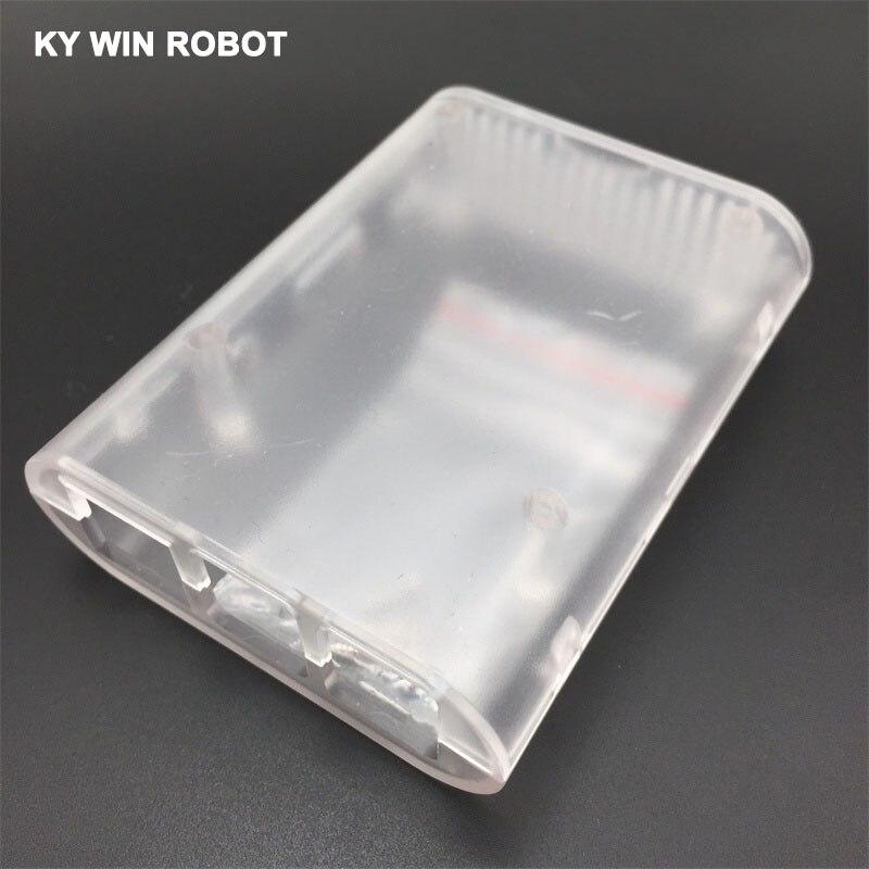 1pcs Transparent Case Cover Shell Enclosure Box ABS box For Raspberry Pi 3 Model B Plus & Raspberry Pi 3 2