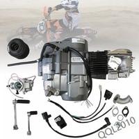 TDPRO 140cc 4 тактный двигатели для автомобиля двигатель W/CARB воздушный фильтр с ручным управлением 1N234 шестерни скутер грязь PitBike карманный велос
