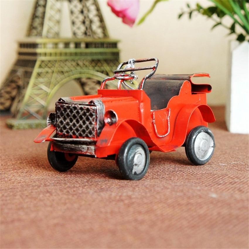 Hot sale (9pcs/lot) Multicolor Finishing retro car model Handmade - Home Decor - Photo 4