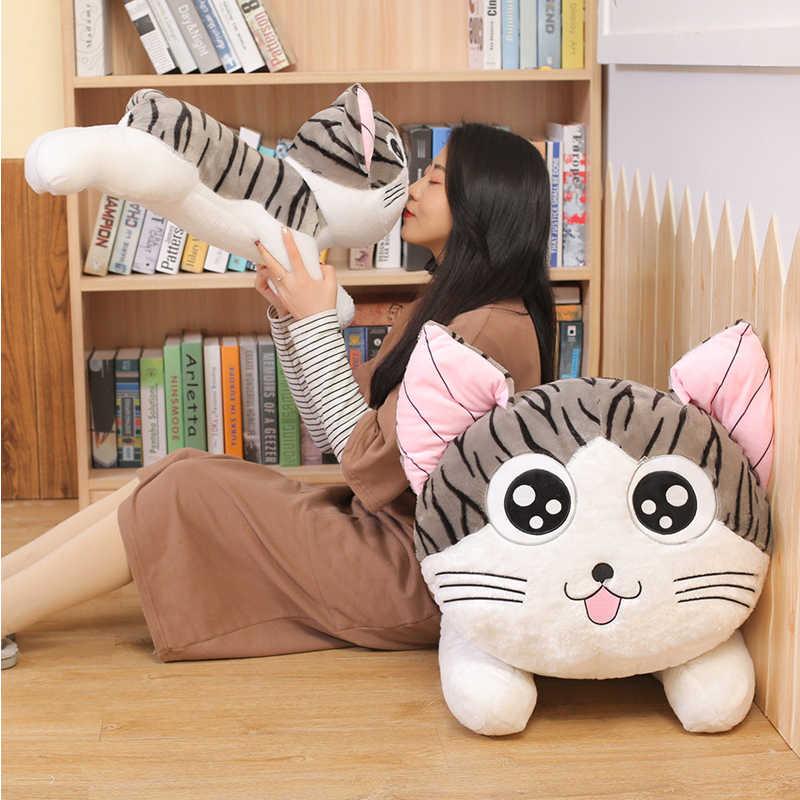6 estilos gatinho gato brinquedos de pelúcia chi chi cat s gato boneca de pelúcia macio animal bonecas queijo gato recheado brinquedos bonecas travesseiro para crianças