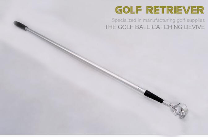 Aluminium Alloy Golf Ball Retriever Telescopic Golf Ball Pick-Up Rod golf ball sample display case