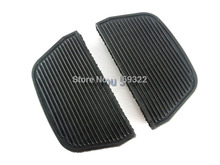 Motorcycle Parts For Harley Rear Rubber Passenger Inser Floorboards Footboards Foot Pegs Pad