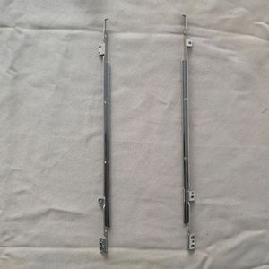 Gzeele nova direita + esquerda lcd dobradiças eixo suporte para msi ge72 gl72 gp72 série portátil dobradiças suporte l + r
