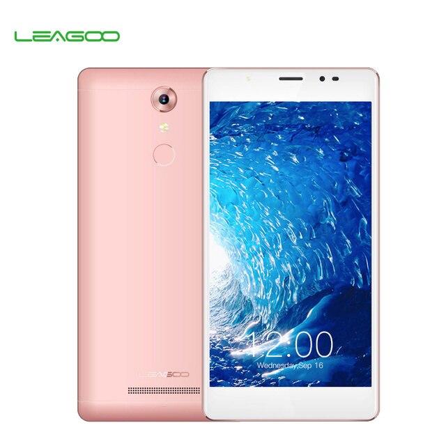 Смартфон Leagoo T1 Plus 5.5-дюймовый экран, Android 6.0, четырехядерный процессор MT6737, ОЗУ 3 Гб, постоянная память 16 Гб, разрешение 1280x720, мобильный телефон 4G LTE с отпечатком пальца 13 мегапикселей