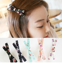 [6379]elastic band bracelet summer style hair accessories women headband clips gum weave baffle braided bow bandana ornaments