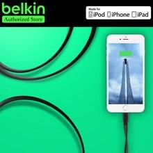 Белкин Оригинал MFi Сертифицированный 8 pin для Lightning на USB Плоским Заряд кабель для iPhone 7 6 s Plus SE для iPad с Розничным Пакетом