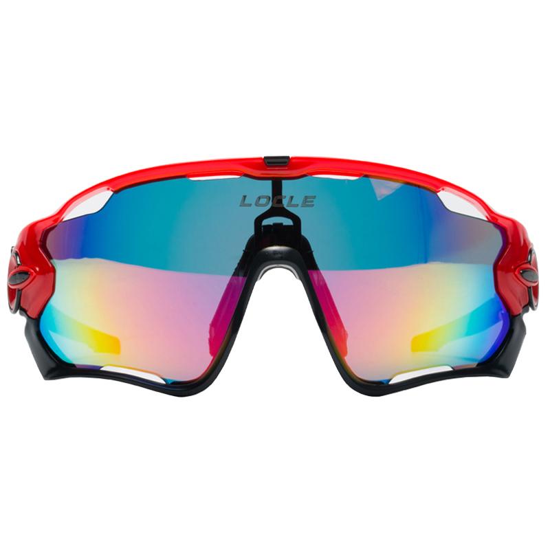 Prix pour Professionnel Polarisé Vélo Lunettes Lunettes Vélo Lunettes UV400 TR90 Vélo lunettes de Soleil 5 Lentille Avec Myopie Cadre