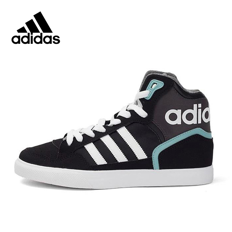 Official New Arrival Official Adidas Originals EXTABALL W Women's High Top Skateboarding Shoes Sneakers Classique цена 2017
