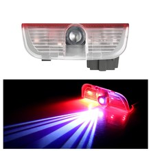 цена на 1x Car Door Welcome Light For VW Car LED Projector Laser Logo Door Light For Volkswagen Golf 5 6 7 Jetta MK5 MK6 Passat B6 B7