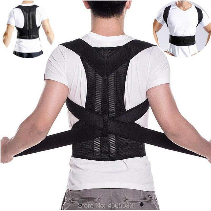 Пояс для поддержки спины ортопедическая поза корсет для спины корсет Поддержка Для мужчин выпрямитель спины круглый плечо Для мужчин; Корректор осанки