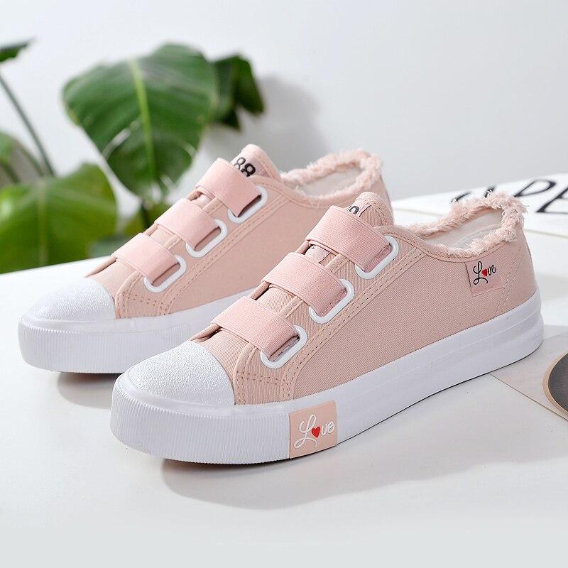 QIAOJINGREN Women Casual Shoes 2018