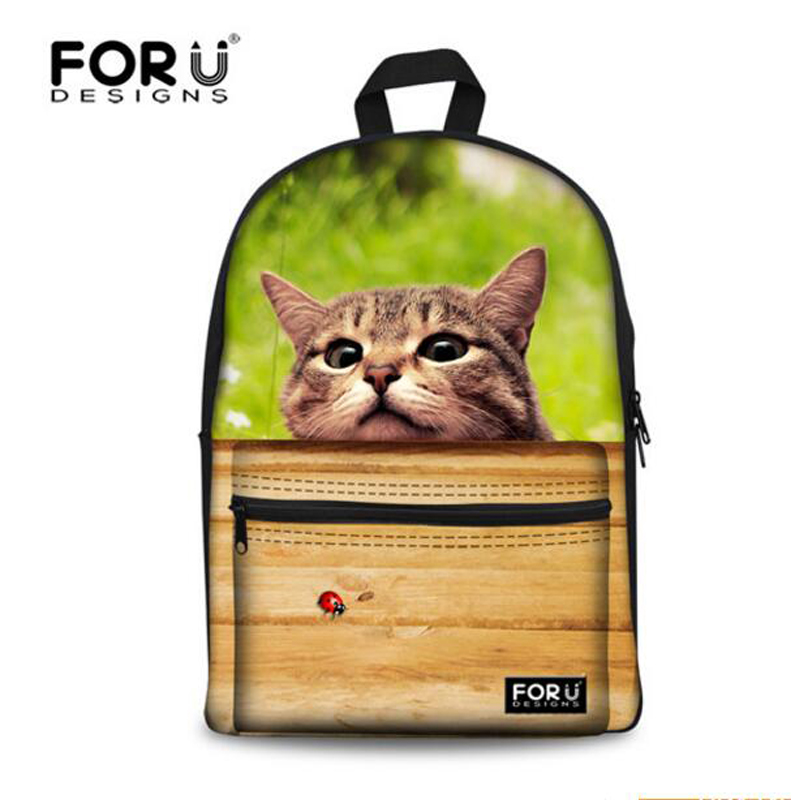 Brand Teenager Girls Boys Backpack Cute Bull Dog Printing Backpacks for Children Fashion Backbag Student Kids School Book Bags new fashion animal school bag for boys cute dog children orthopedic school backpack for girls children mochila escolar for kids