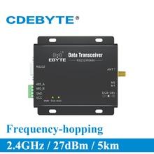 E34 DTU 2G4H27 دوبلكس كامل RS232 RS485 nRF24L01P 2.4Ghz 500mW IoT uhf جهاز استقبال لاسلكي جهاز ريسيفر استقبال وإرسال وحدة rf
