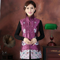 Brand New Arrival Autumn Winter Chinese Traditional Women's Embroider Flower Waistcoat  L XL XXL 3XL 4XL 5XL MTJ20150061