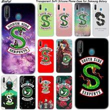 "Ханука ""South Side serpents"" логотип мягкий Чехол для samsung Galaxy A80 A70 A60 A50 A40 A40S A30 A20E A2CORE M40 Примечание 10 плюс 9 8 5"