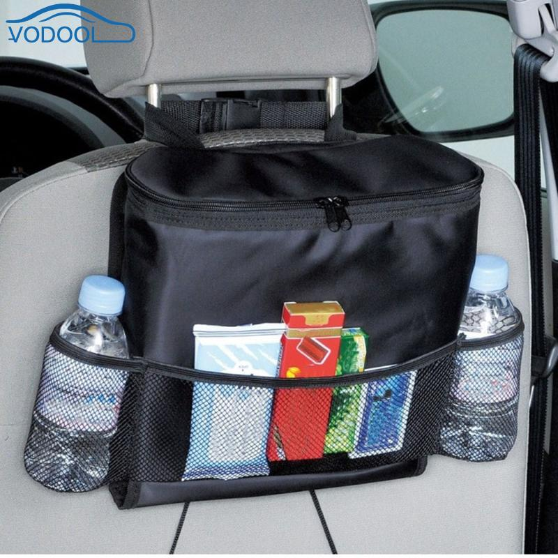 Car Storag Bag Automobile Seat Bag Organizer Voiture Food Drink Phone Backseat Holder Pockets Auto Interior Accessories