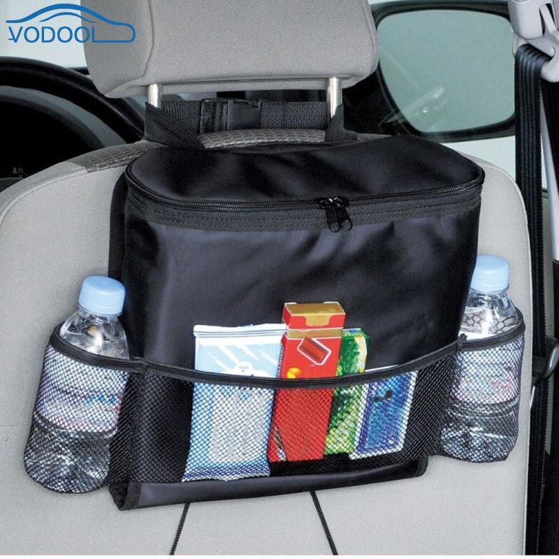 Car Storag Bag Automobile Seat Bag Organizer Voiture Food Drink Phone Backseat Holder Pockets Auto Interior Accessories