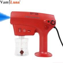 Hair Spray Nano Mister Hair Steamer Hair Coloring Nano Steam Gun Hair Care Spa Humidifier 260ML Tank Blue Nano Mixed Vapor