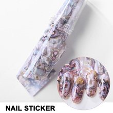 Get more info on the Water Transfer Full Nail Stickers with Shell Starry Sky Patterns for Women KG66