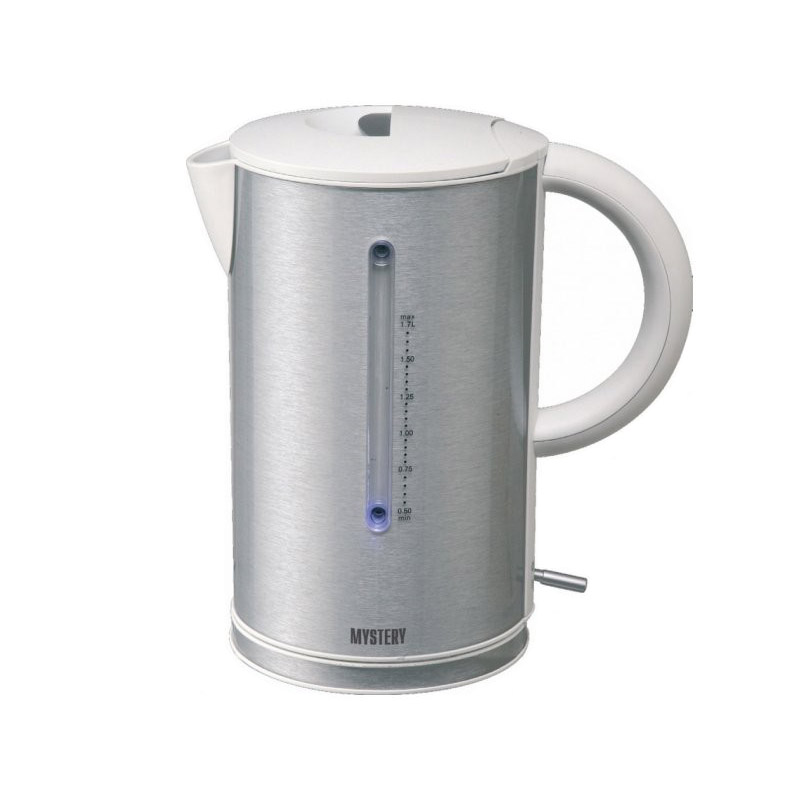Electric kettle MYSTERY MEK-1614 grey стоимость