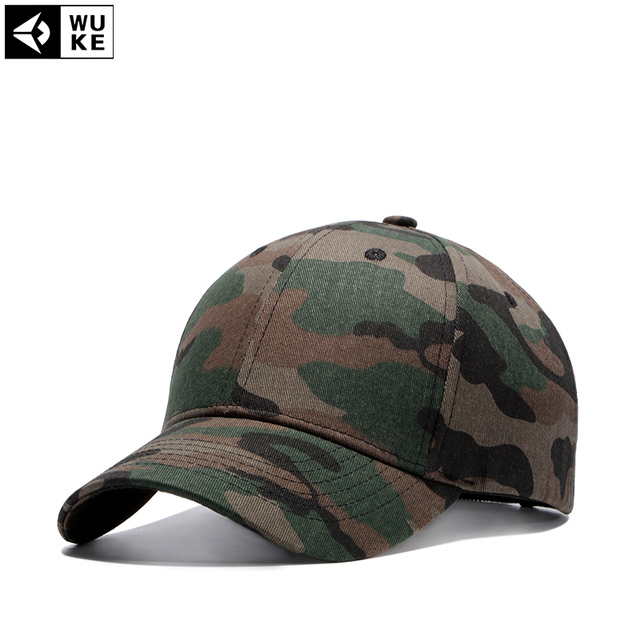 d73dec16972 Wuke Summer Cap 4 Color Men s Snapback Camouflage Tactical Hat Army Tactical  Baseball Cap Camouflage Caps Sun Hat Golf Hats