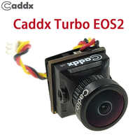 Cámara FPV Caddx Turbo EOS2 1200TVL 2,1mm 1/3 CMOS 16:9 4:3 Mini FPV Cámara Micro Cam NTSC/PAL para RC aviones no tripulados de accesorio del coche