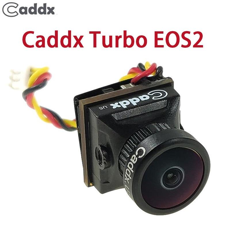 Câmera FPV Caddx Turbo EOS2 1200TVL 2.1 milímetros 1/3 CMOS 16:9 4:3 Mini Câmera FPV Micro Cam NTSC/PAL Para Zangão RC Acessório Do Carro