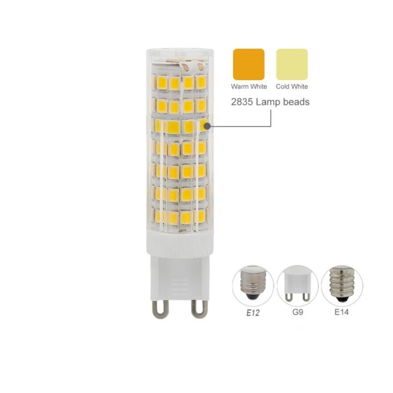 G9 E12 E14 LED Corn bulb 88LEDS Atmosphere decoration No Flicker lighting lamp